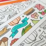 Thanksgiving Printable Kids Table!