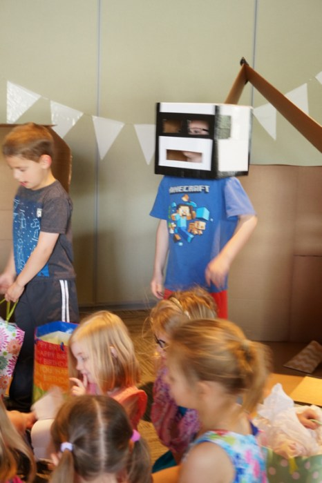 Cardboard Box Party, Creative Kids Party