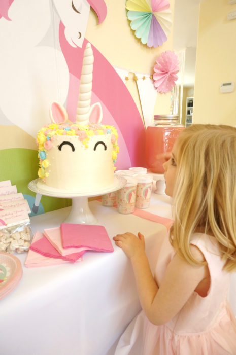 Unicorn Birthday Cake Nyc