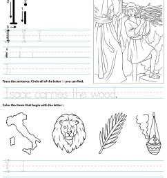 Catholic Alphabet Letter I Worksheet Preschool Kindergarten -  TheCatholicKid.com [ 1650 x 1275 Pixel ]