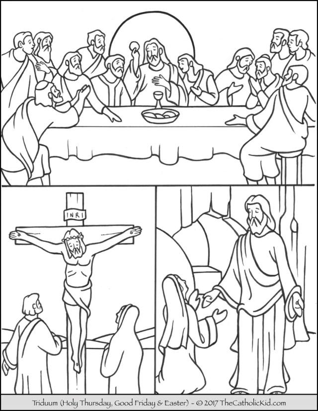 good friday Archives - The Catholic Kid - Catholic Coloring Pages