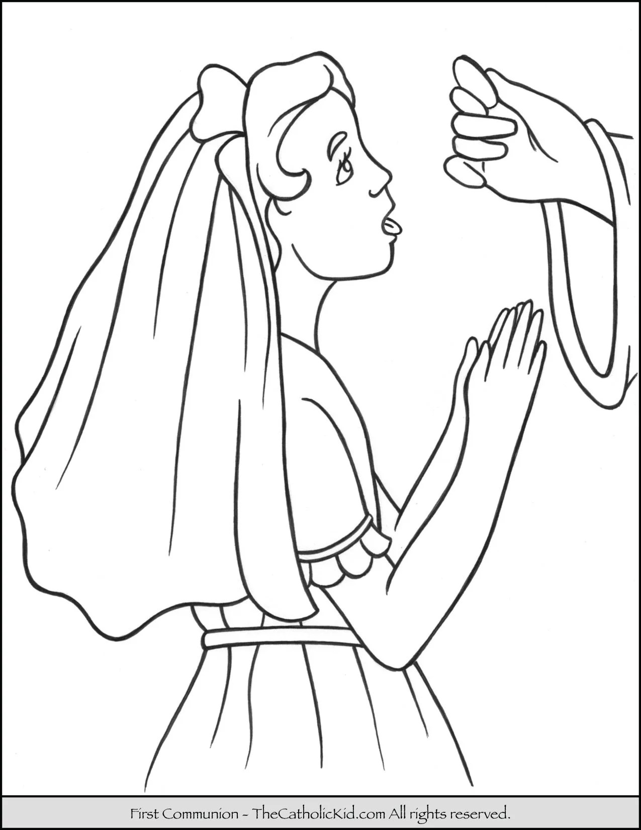 Free First Holy Communion Coloring Pages, Download Free Clip Art, Free Clip  Art on Clipart Library | 1650x1275