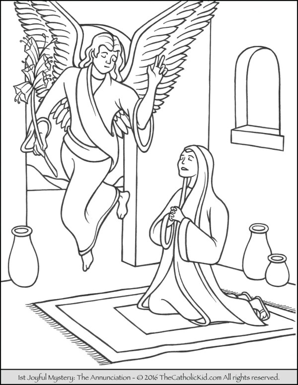 mary coloring pages # 11