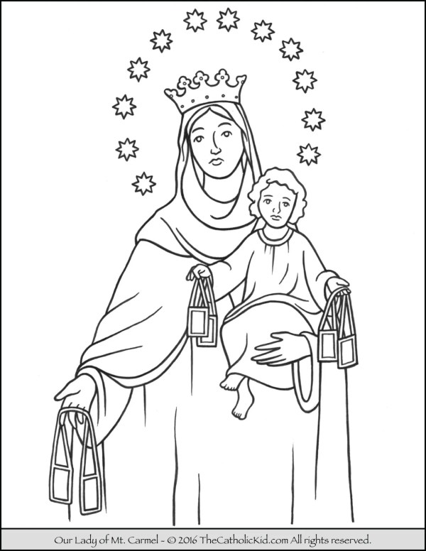 our lady of guadalupe coloring page # 75