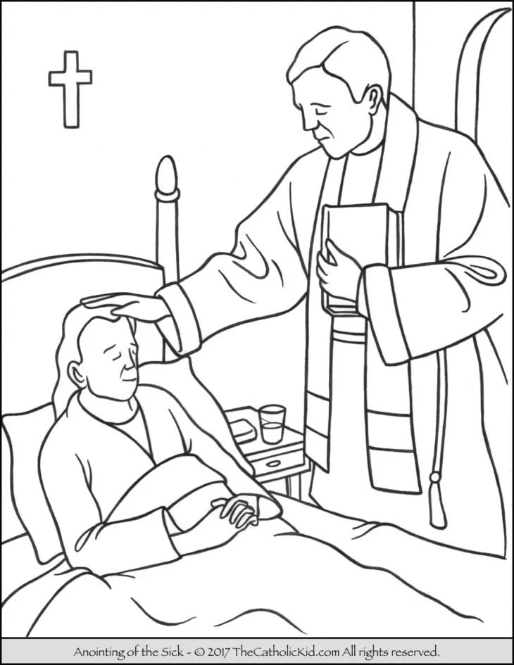 Coloring Pages Of Blessed Sacrament Coloring Pages