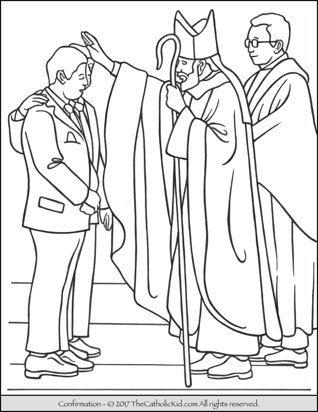 Catholic Coloring Pages Printable
