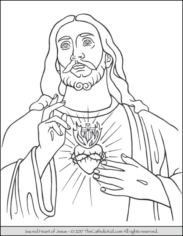 coloring pages jesus # 4