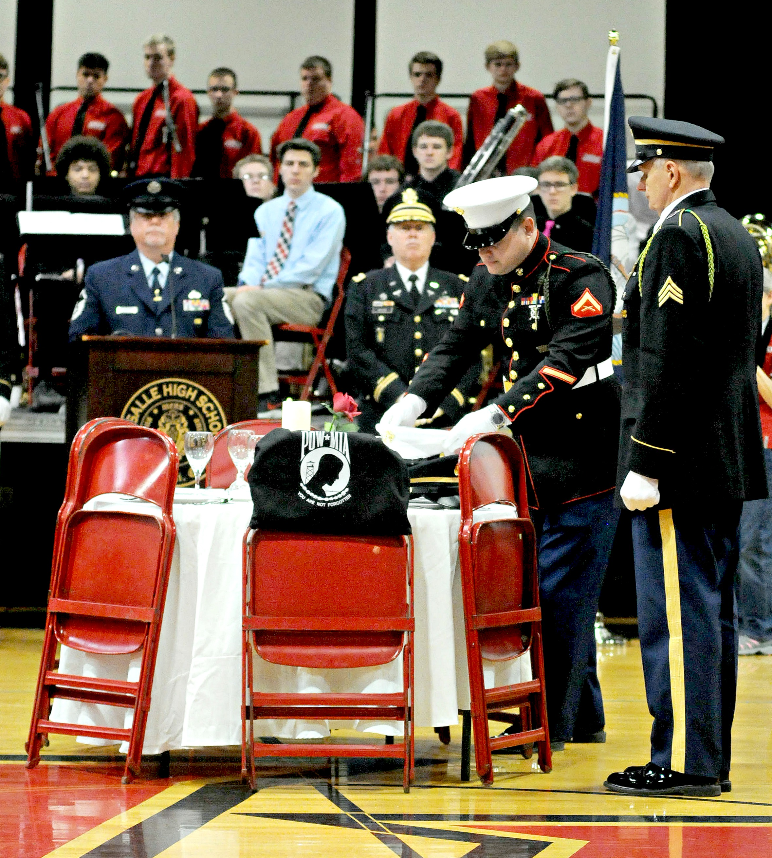 Photo Essay Veteran S Appreciation Day At La Salle High