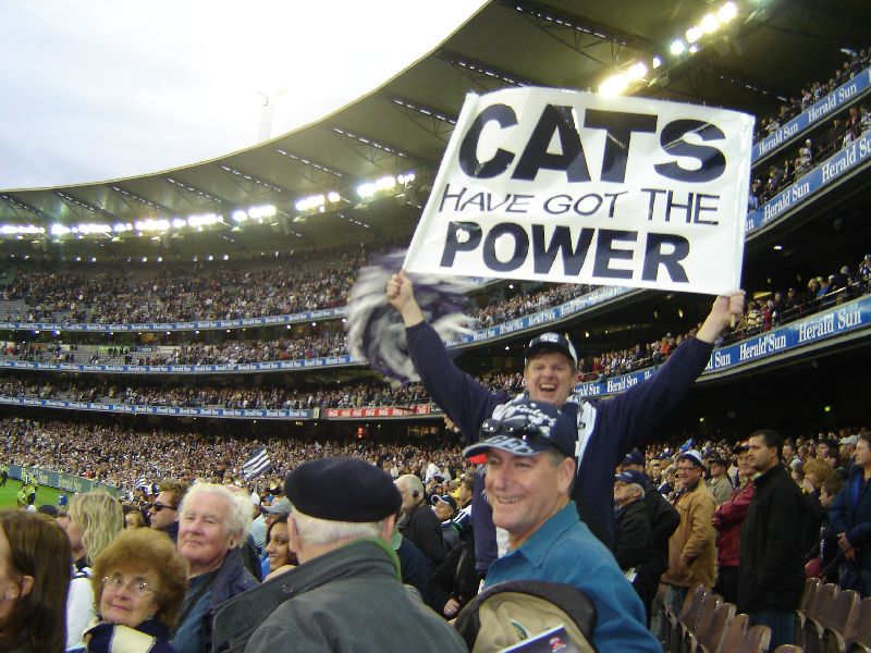 Port Adelaide Power v Geelong Cats