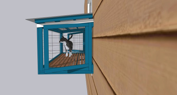 cat window box catio