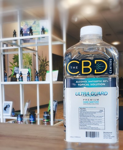 Hand Sanitizer by Ultra Guard, MN Grown