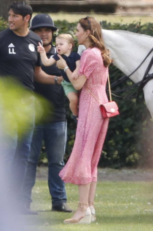 Kate And Meghan Unite With Kids To Watch Princes At Polo Match