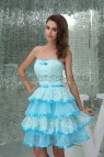 Cute Light Blue Dresses