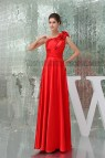 Red Floor Length Prom Dresses