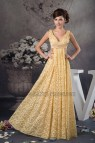 Gold Lace Bridesmaid Dresses