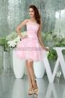 Light Pink Sweet 16 Dresses Short