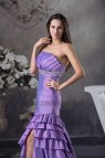 Purple Mermaid Prom Dresses