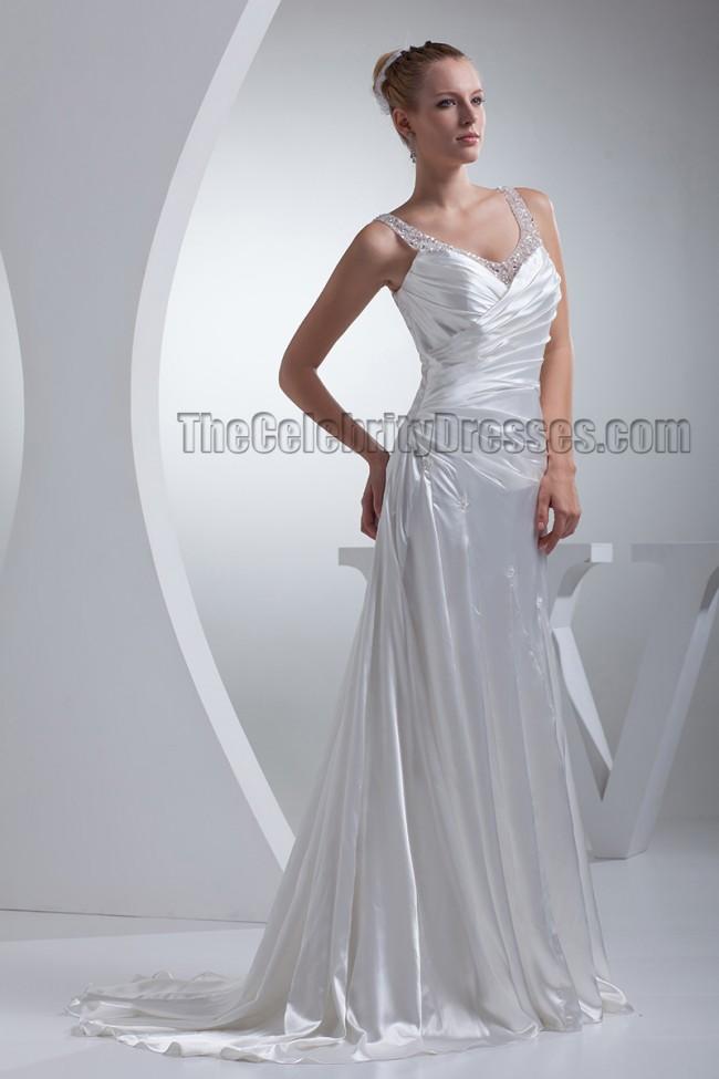 Silk Sheath Wedding Dress