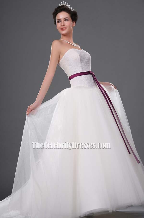 Kate Hudson Wedding Dress Bridal Gown In Movie Bride Wars
