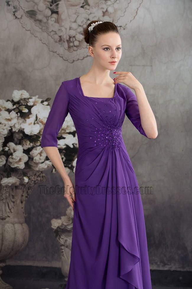New Style Regency Chiffon ALine Bridesmaid Prom Dresses  TheCelebrityDresses