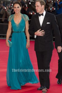 Kate Middleton Prom Dress London Olympic gala Formal Gown ...