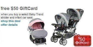 Target: Baby Trend Jogger Stroller AND Car Seat Combo $110 After $50 ...