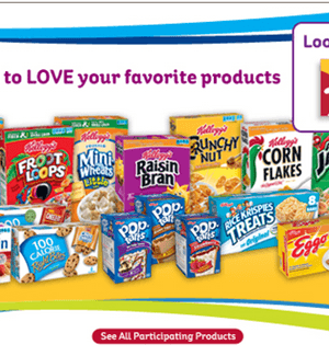 Kellogg's Family Rewards: Over 200 Points (Redeem for High Value Coupons)