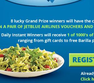 $1/2 Barilla Blue Box Pasta Reset + Bashas Deal & Instant Win Game