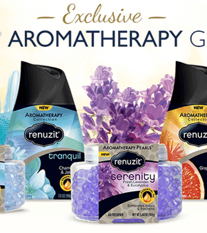 FREE Renuzit Aromatherapy Giveaway (1,000 Winners)