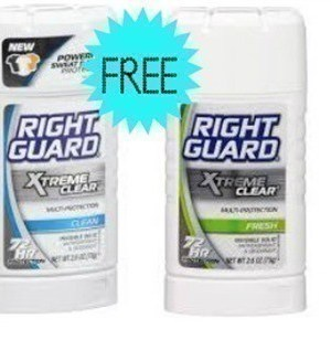 {Reset} $2/2 Right Guard (FREE Deodorant at Target)