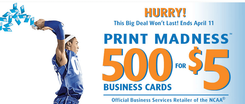 Ups store 500 full color business cards just 5 ends 411 the if you need basic business cards the ups store is offering 500 basic cards for just 500 through 411 colourmoves