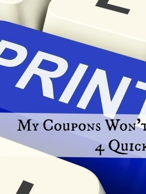 Coupons that Won't Scan | 4 Simple Tips