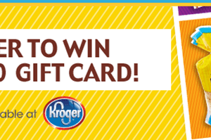 Udi's Gift Card Giveaway:  Enter to Win a $100 Kroger Gift Card {50 Winners}