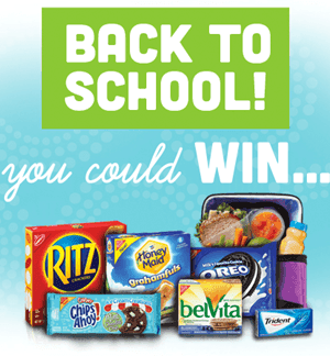 Back to School Instant Win Game for Kroger & Affiliates {Win 1 of Over 6,000 Prizes}