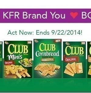 Kellogg's Family Rewards: 100 Bonus Points with Keebler Club Crackers {thru 9/22}