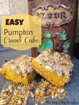 Recipe | Pumpkin Crumb Cake