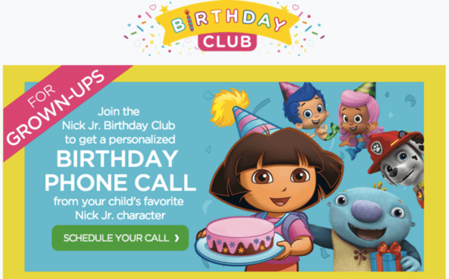 Free personalized birthday phone call from your childs favorite free personalized birthday phone call from your childs favorite nick jr character register the centsable shoppin filmwisefo
