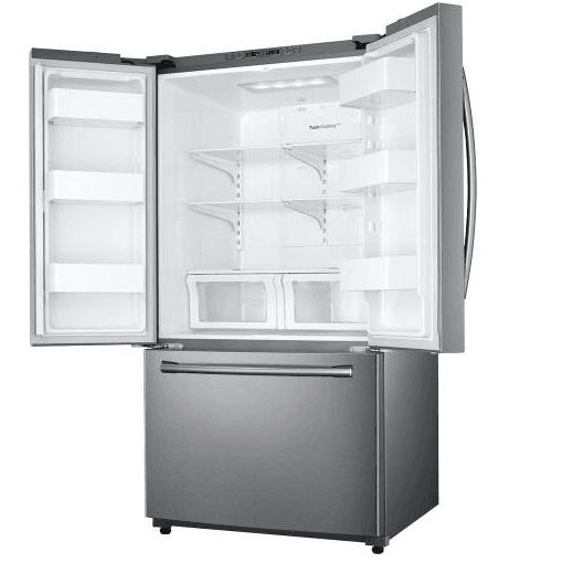 Best Buy Samsung 25 Cu Ft Stainless Steel French Door Refrigerator