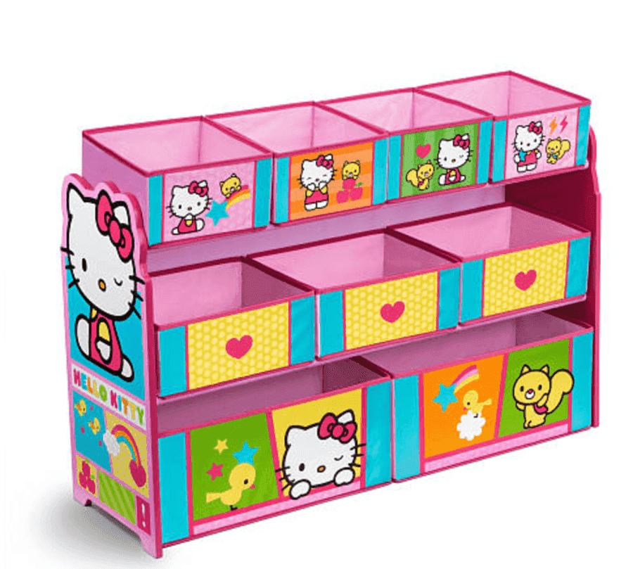 Toys Are Us Hello Kitty : Toys r us hello kitty deluxe bin toy organizer just