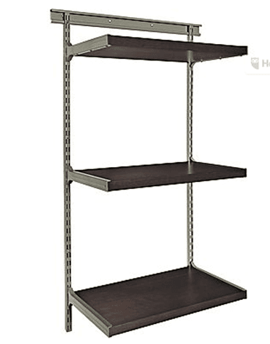 Organize Your Living Room Or Home Office, With This ClosetMaid® Shelftrack  Elite Bookshelf Kit For $15.99 With FREE Shipping To Store.