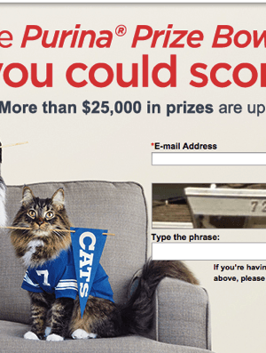 NEW Purina Prize Bowl Instant Win Game | More than $25,000 in Prizes through 2/11