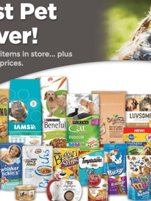 Kroger Purina Beyond Benefits Sweepstakes {Enter to Win a One Year Supply of Pet Food}