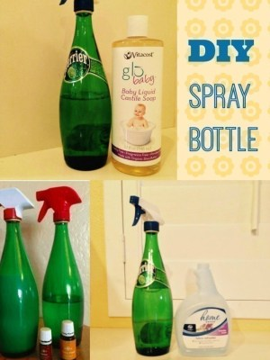 How to Make Your Own Glass Spray Bottle