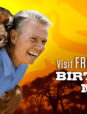 Out of Africa Wildlife Park | Visit FREE During your Birthday Month!