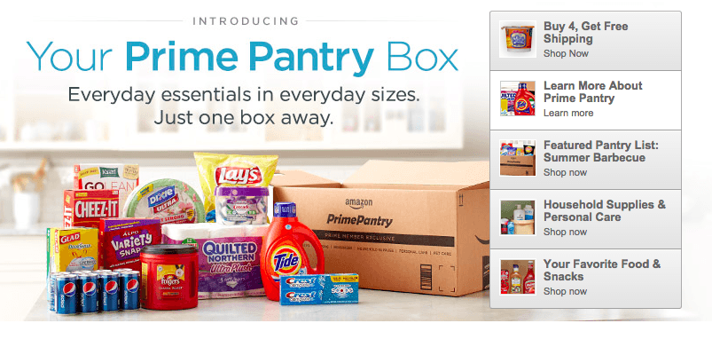 how to use 5 prime pantry credit