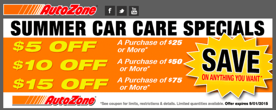 Nov 12,  · Autozone Weekly Ad & Sales. Check out this week Autozone Ad sale prices, printable coupons, current circular savings and latest specials. Autozone is a well-known name in the industry of automotive replacement parts and accessories, known to provide great service and to accommodate a variety of tasks, including battery change, lights install, taillight replace, cleaning connections on the .