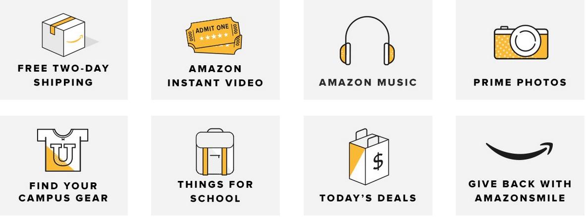 Amazon Student: FREE 6-Month Amazon Prime Membership