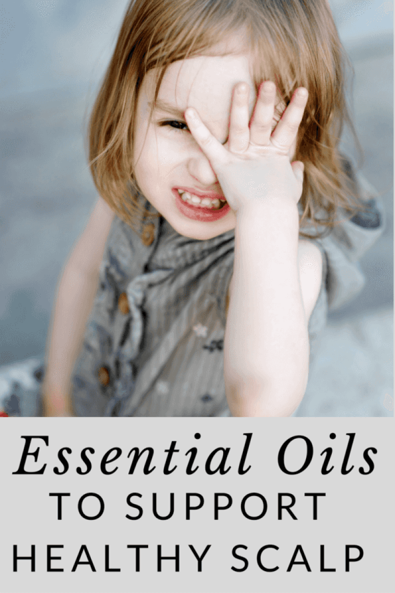 Healthy Scalp Support with Essential Oils