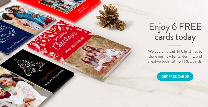 snapfish 6 custom holiday photo cards just 299 shipped - Snapfish Christmas Cards