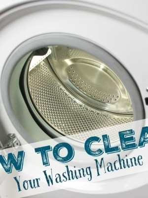 How to Clean your Washing Machine {Drum, Seal & All}